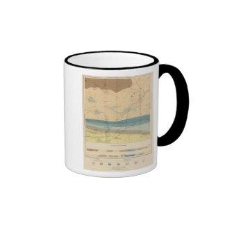 Hoja detallada XXXIII de la geología Taza De Dos Colores