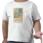 Hoja detallada XXXVII de la geología Camiseta