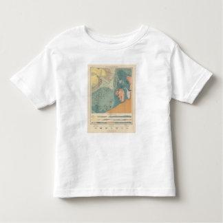 Hoja detallada XXXVII de la geología Camisetas