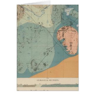 Hoja detallada XXXVII de la geología Tarjeton