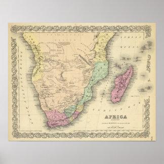 Hoja meridional de África Impresiones