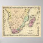 Hoja meridional de África Póster