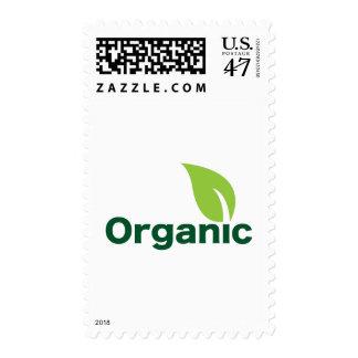 Hoja orgánica sellos