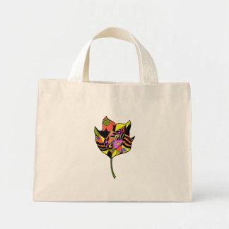 Hoja ornamental bolsa tela pequeña
