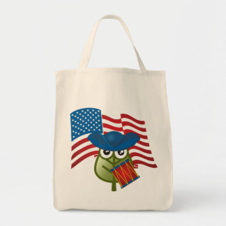 Hoja patriótica bolsa