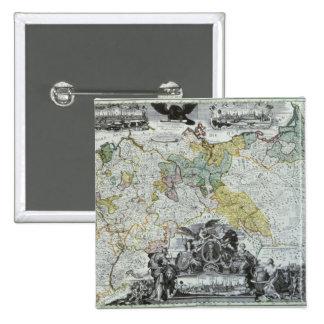 Hoja principal del Sovereign prusiano Pin Cuadrado