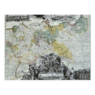 Hoja principal del Sovereign prusiano Tarjeta Postal