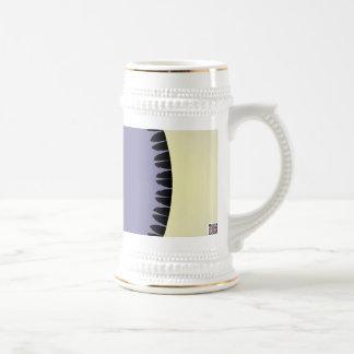 Hoja púrpura tazas de café