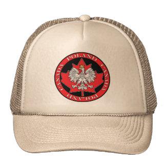 Hoja redonda de Polonia Canadá Gorros
