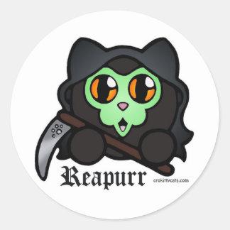 Hoja severa del pegatina de Reapurr