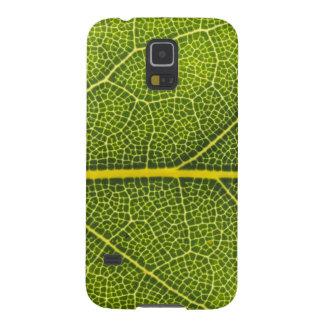 Hoja verde ecológica galaxy nexus funda