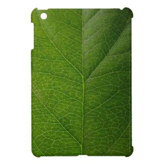 Hoja verde iPad mini cárcasa
