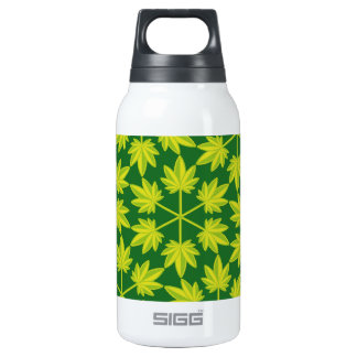 Hoja verde vectorial de planta. Vector plant. Insulated Water Bottle