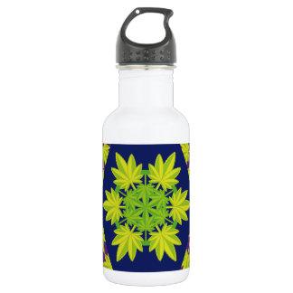 Hoja verde vectorial de planta. Vector plant. Stainless Steel Water Bottle