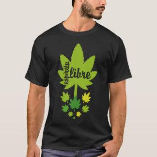 Hoja verde vectorial espíritu libre. Vector plant. T-Shirt