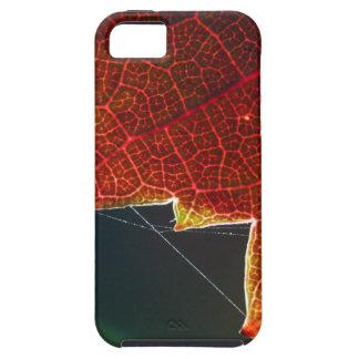 Hoja y Web de la uva de la caída Funda Para iPhone SE/5/5s