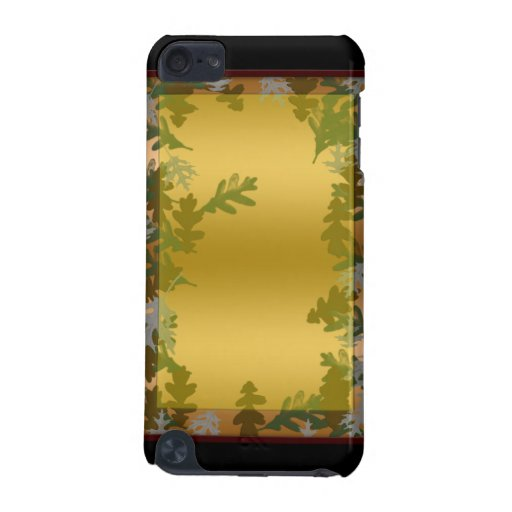 hojas 2 de la caída funda para iPod touch 5G