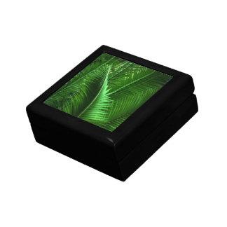 Hojas abstractas del verde