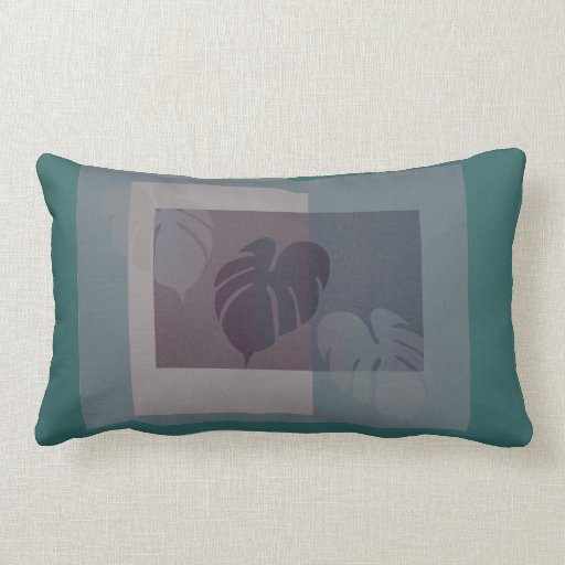 Hojas caidas almohada contemporánea del diseñador