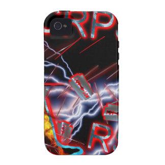 Hojas de afeitar y agujas de CRPS Case-Mate iPhone 4 Carcasas