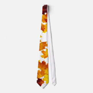 Hojas de arce corbatas personalizadas