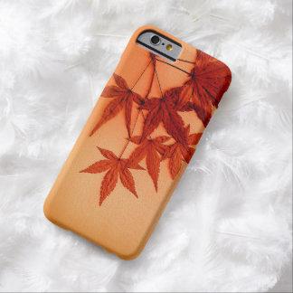 Hojas de arce japonesas rojas funda barely there iPhone 6