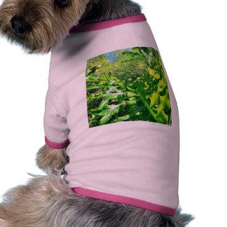 Hojas de Forrest Camisa De Perro