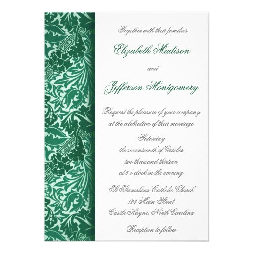 Hojas de la aguamarina de William Morris que casan