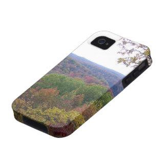 Hojas de la caída en las caídas del Cumberland iPhone 4 Carcasa