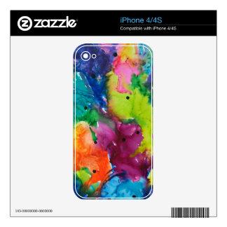 Hojas de la caída iPhone 4S skins