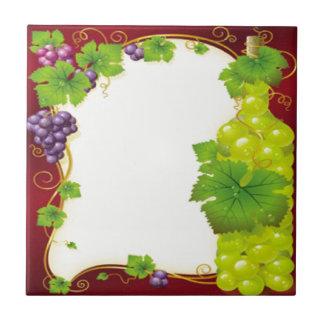 Hojas de la uva teja