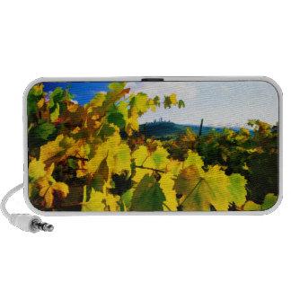 Hojas de la uva y el cielo mp3 altavoz