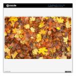 Hojas de otoño 27,9cm MacBook air calcomanía