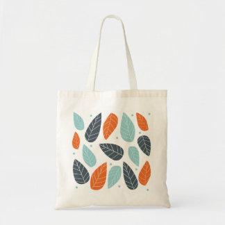 Hojas de otoño bolsa tela barata