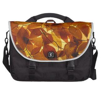 Hojas de otoño bolsa de ordenador