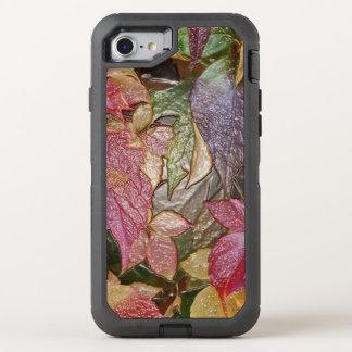 Hojas de otoño brillantes, Cera-Mirada 001,1 Funda OtterBox Defender Para iPhone 7