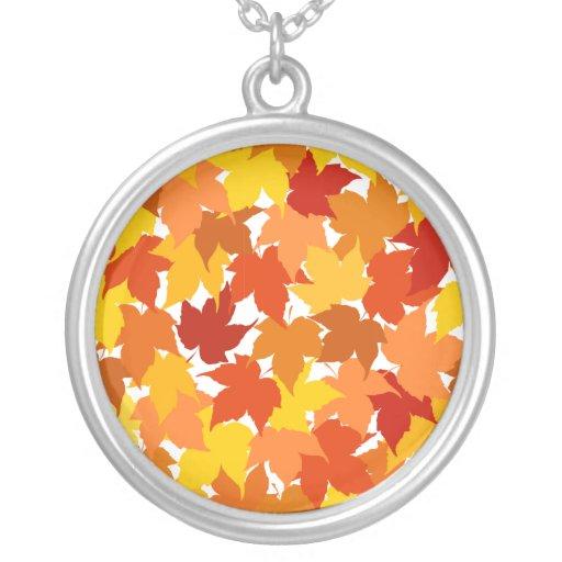 Hojas de otoño del árbol de arce grimpolas personalizadas