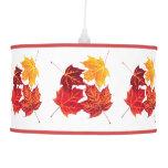 hojas de otoño del arce rojo