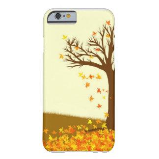Hojas de otoño funda barely there iPhone 6