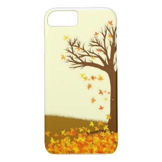 Hojas de otoño funda iPhone 7