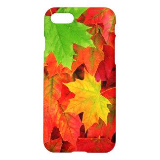 Hojas de otoño funda para iPhone 7