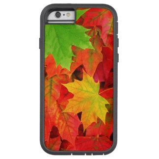 Hojas de otoño funda tough xtreme iPhone 6
