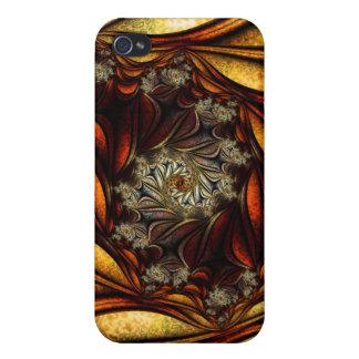Hojas de otoño iPhone 4 fundas