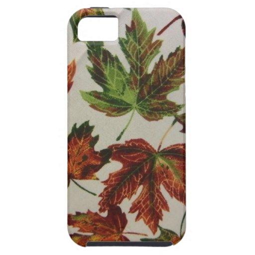 Hojas de otoño iPhone 5 carcasa