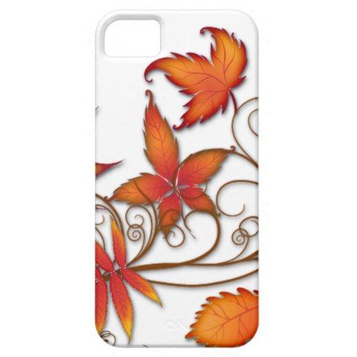 Hojas de otoño iPhone 5 Case-Mate carcasas