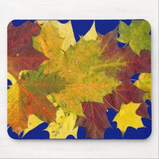 """Hojas de otoño"" Mousepad"