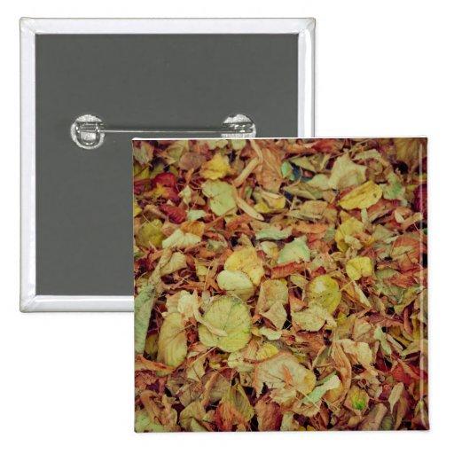 Hojas de otoño pins