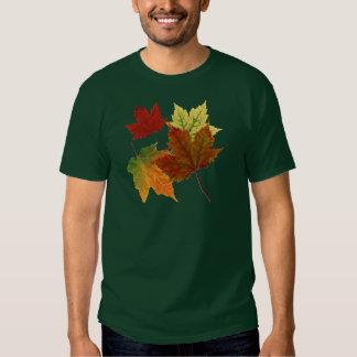 Hojas de otoño playera