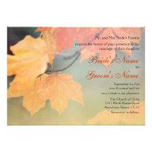 Hojas de otoño que casan 2