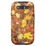 Hojas de otoño samsung galaxy s3 carcasas
